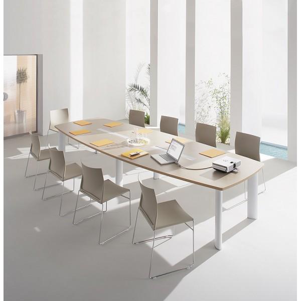 table de réunion fregate clen