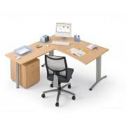 Bureau opératif Elise configuration Poste double vague