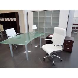 Bureau de direction Syntesi finition verre
