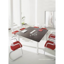 Table de réunion carrée Fregate