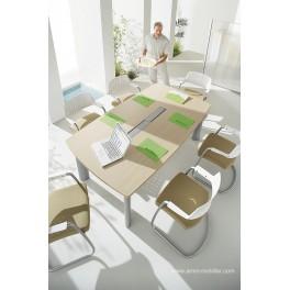 Table de réunion tonneau Fregate