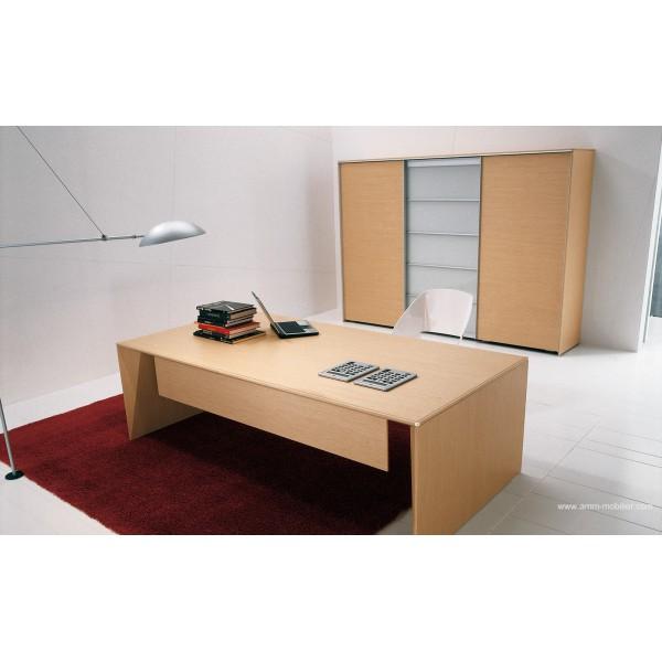 bureau de direction eracle finition ch ne clair. Black Bedroom Furniture Sets. Home Design Ideas