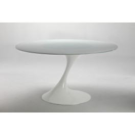 Table Atatlas verre blanc