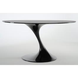 Table Atatlas verre noir