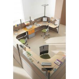 Bureau opératif Hélice composition postes indépendants