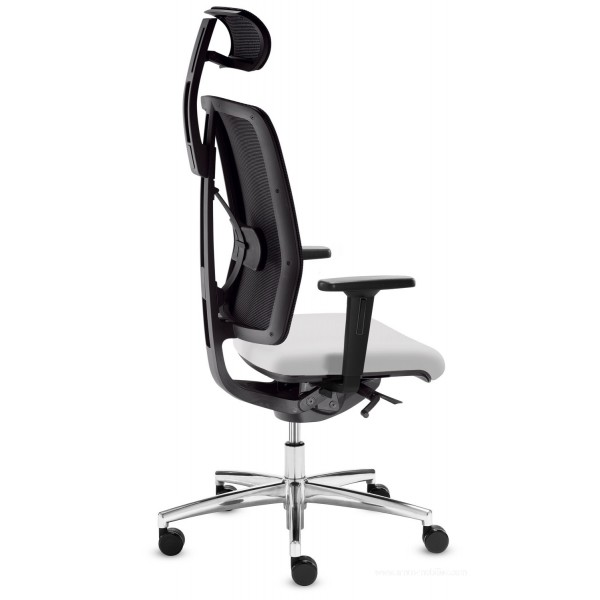 Si ge de bureau dat o blanc avec t ti re - Siege de bureau blanc ...