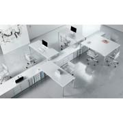 Bureau opératif My Desk composition 5 postes