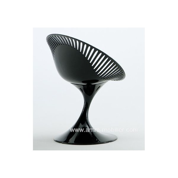 fauteuil d 39 accueil azhar pied tulipe. Black Bedroom Furniture Sets. Home Design Ideas