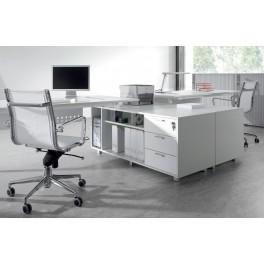 Bureau opératif Pop configuration côte à côte