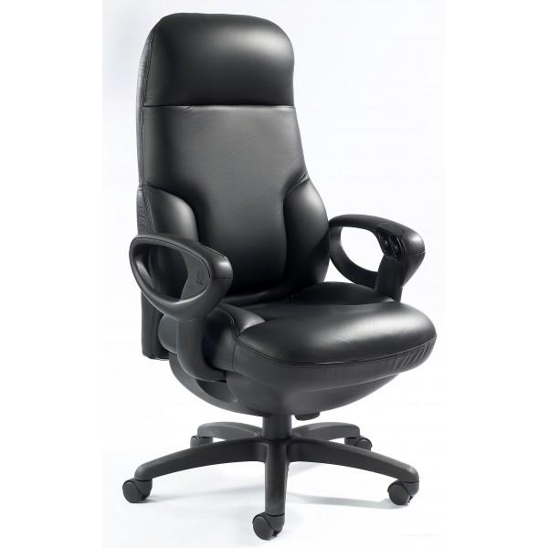 fauteuil de direction concorde 24h 24h avec haut dossier. Black Bedroom Furniture Sets. Home Design Ideas