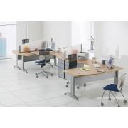 Bureau opératif compact 90 degrés courbe Icone Pommier royal