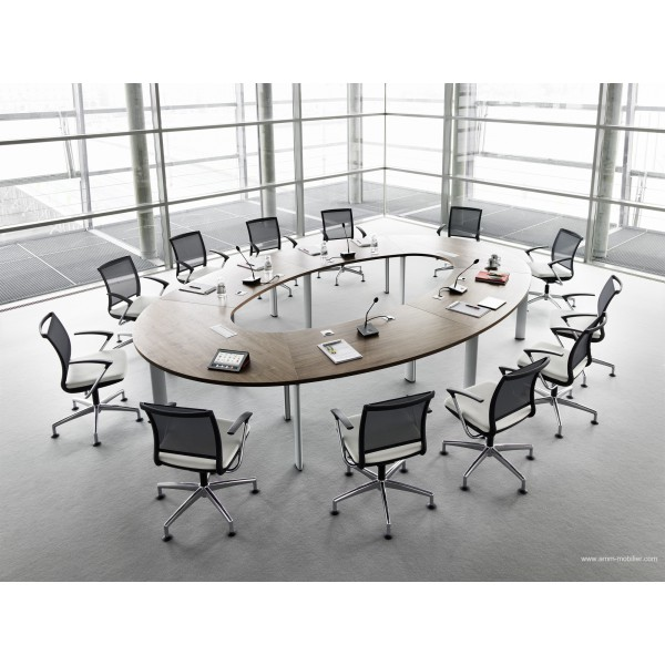 Table de r union ovale cx 3200 - Table de reunion design ...