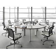 Table de réunion ovale CX 3200
