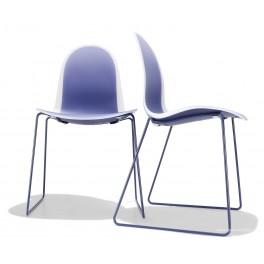 Chaise polyvalente pieds luge 3x2