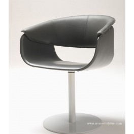 Fauteuil conférence Airlux pied rond
