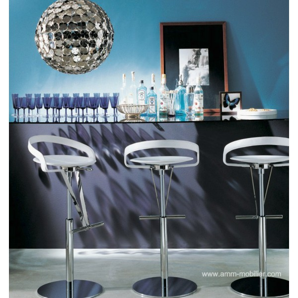 Tabouret pivotant cayman bar for Tabouret bar pivotant