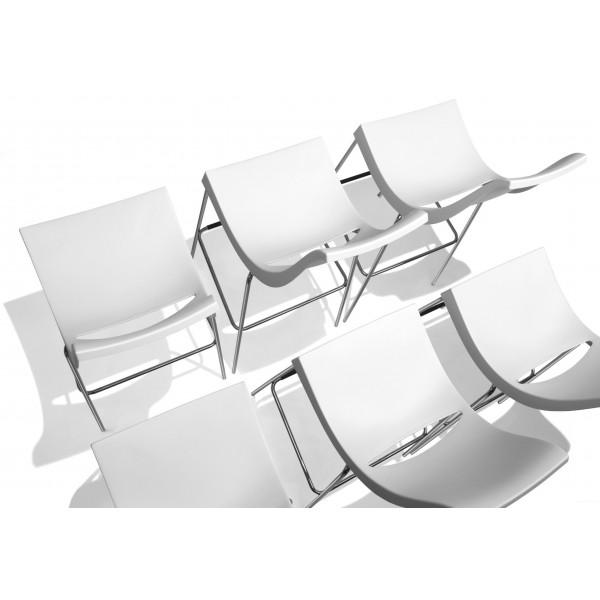 tabouret de bar 4 pieds chiacchiera. Black Bedroom Furniture Sets. Home Design Ideas