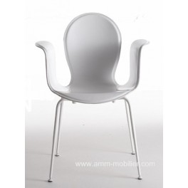 Fauteuil empilable CROP