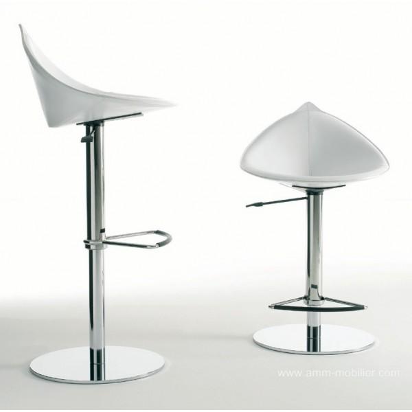 tabouret pivotant fiorile par fasem. Black Bedroom Furniture Sets. Home Design Ideas