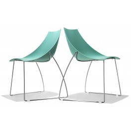 Chaise polyvalente pieds luge HOOP
