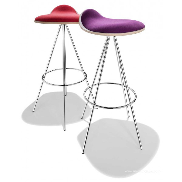 tabouret de bar 4 pieds caramella. Black Bedroom Furniture Sets. Home Design Ideas