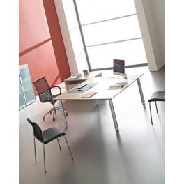 Table de réunion Nautile carrée
