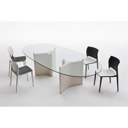 Table de réunion TEE Ovale