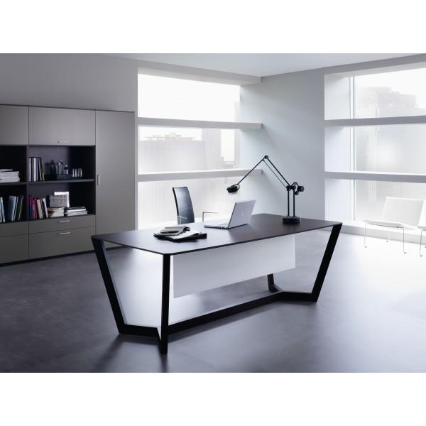 bureau de direction lorca finition weng. Black Bedroom Furniture Sets. Home Design Ideas