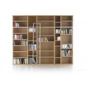 Bibliothèque Jakin en hêtre naturel