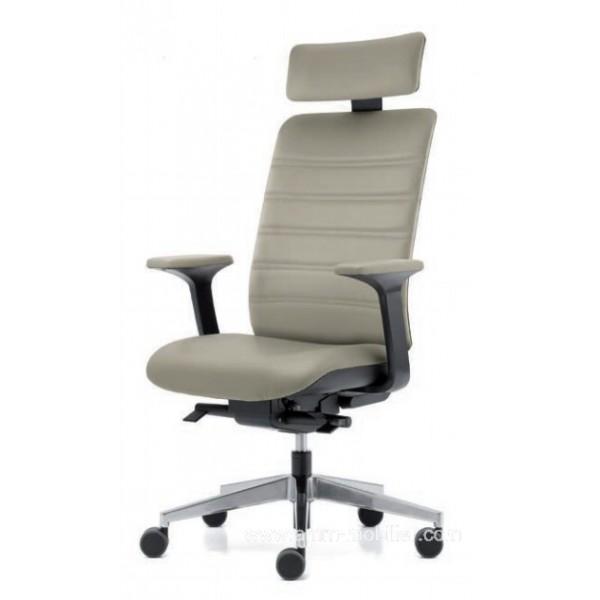 fauteuil de direction wi max avec t ti re. Black Bedroom Furniture Sets. Home Design Ideas