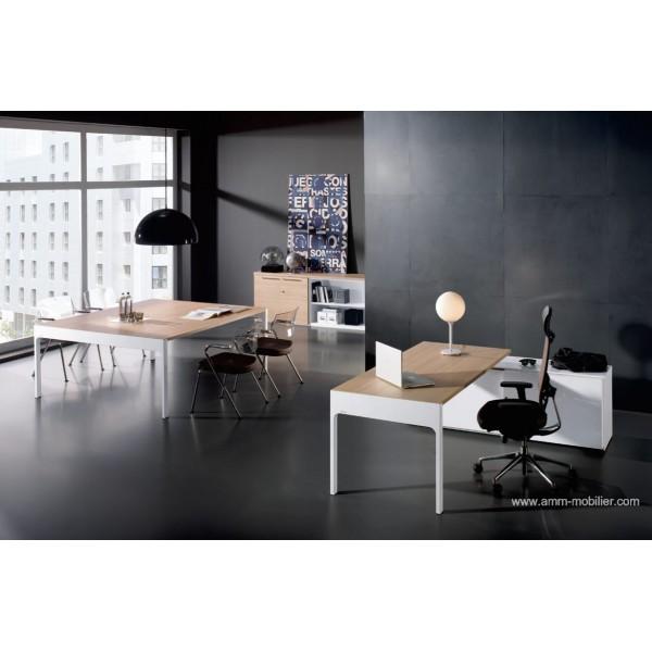 bureau de direction lancewood finition ch ne clair. Black Bedroom Furniture Sets. Home Design Ideas