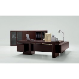 Bureau de direction Mux finition rosewood