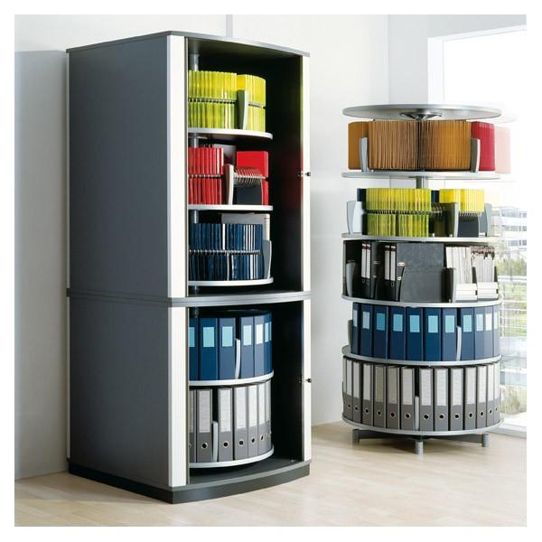 Armoire rotative rideaux lockfile for Meuble classement papier