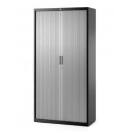 Armoire métal PV Base portes rideaux aluminium