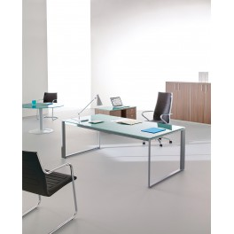 Bureau de direction Avene finition verre