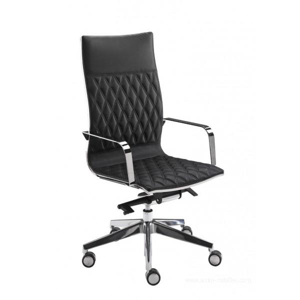 fauteuil de direction kruna haut dossier. Black Bedroom Furniture Sets. Home Design Ideas