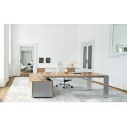 Bureau de direction ONO finition bois chêne blanchi